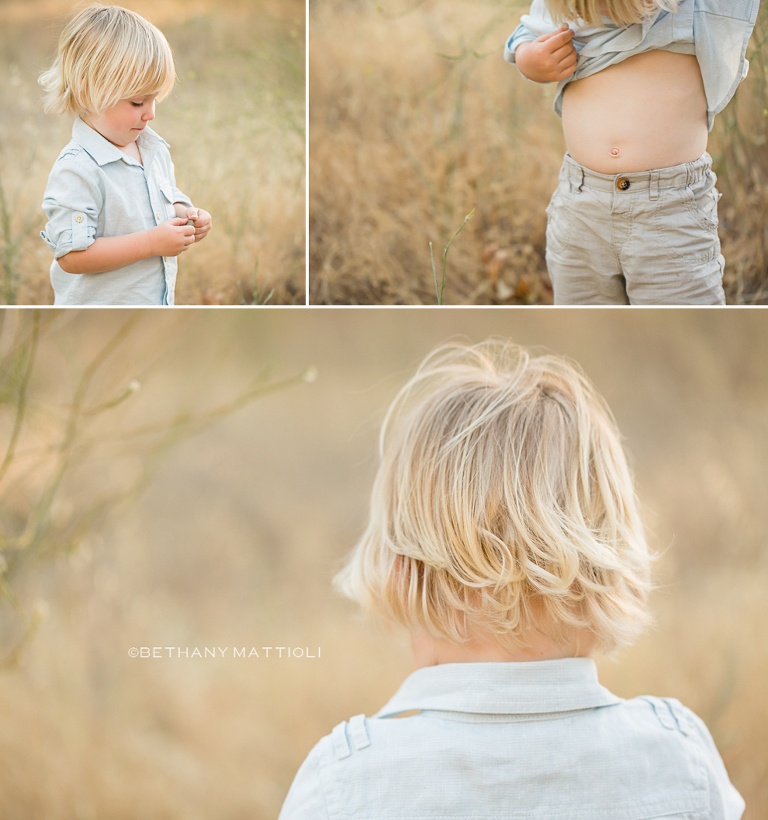 Blond Toddler Boy | Bethany Mattioli Photography - Morgan Hill Children Photographer