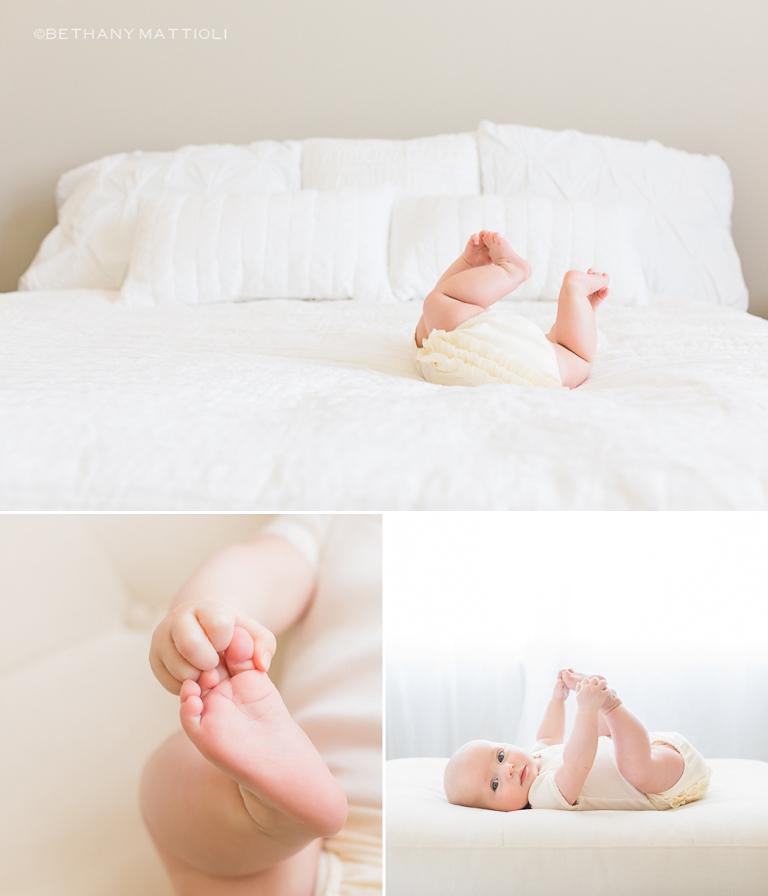 Tiny Toes | Bethany Mattioli Photography - Bay Area Baby Photographer