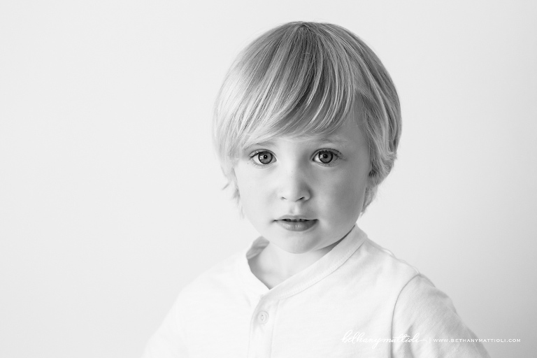 Toddler Boy Portrait | Bethany Mattioli Photography - Bay Area Children Photographer