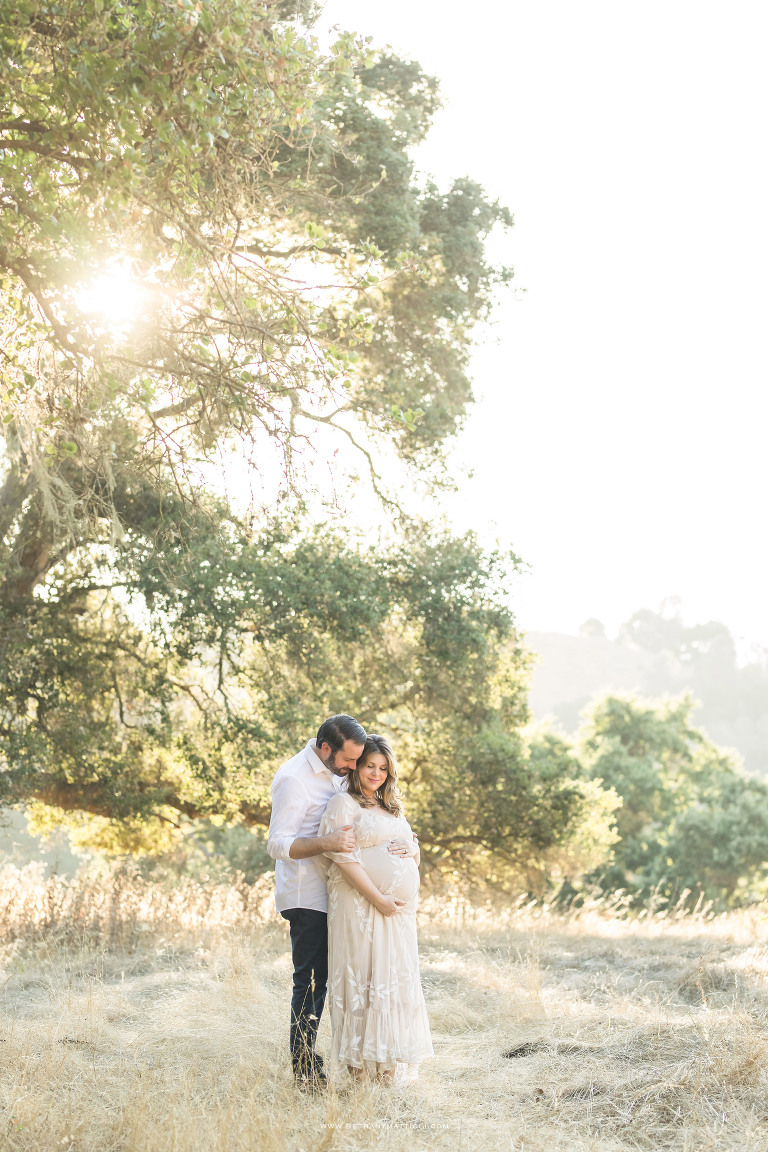 Outdoor Maternity Session in the Bay Area | Bethany Mattioli Photography