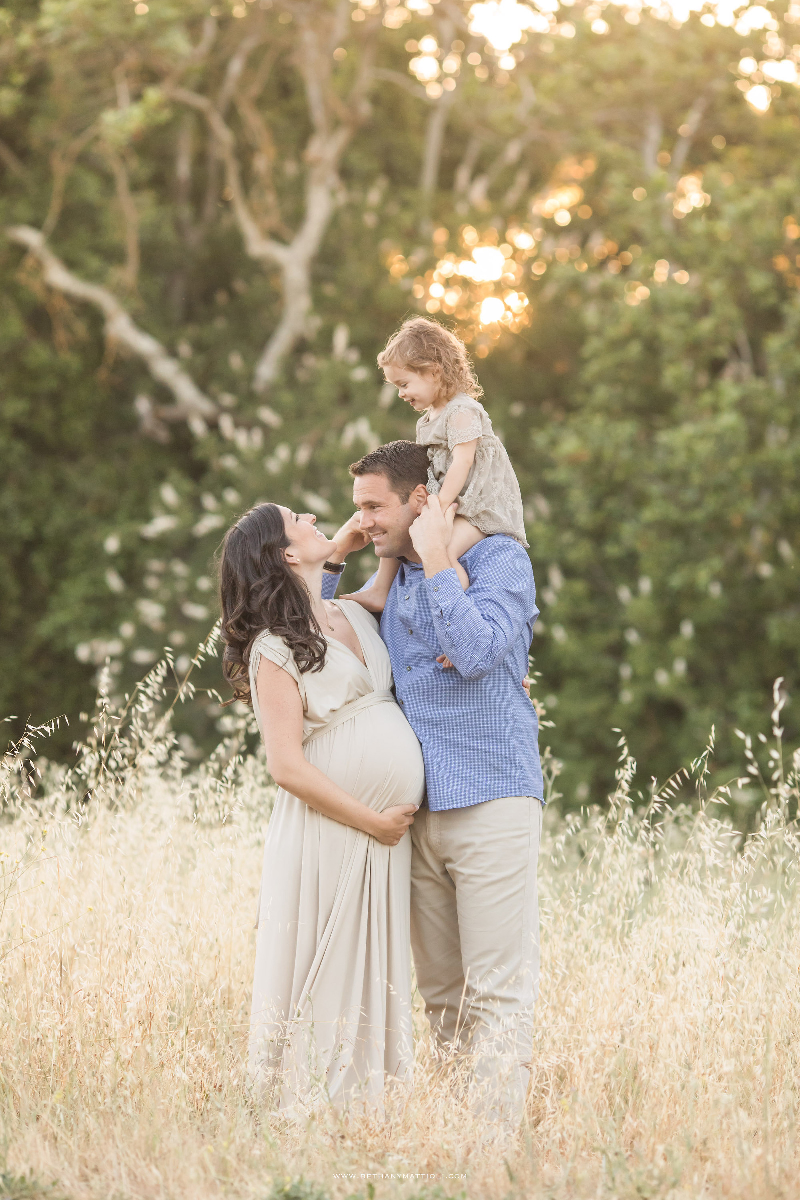 Bay Area Family Maternity Photographer   One More to Love
