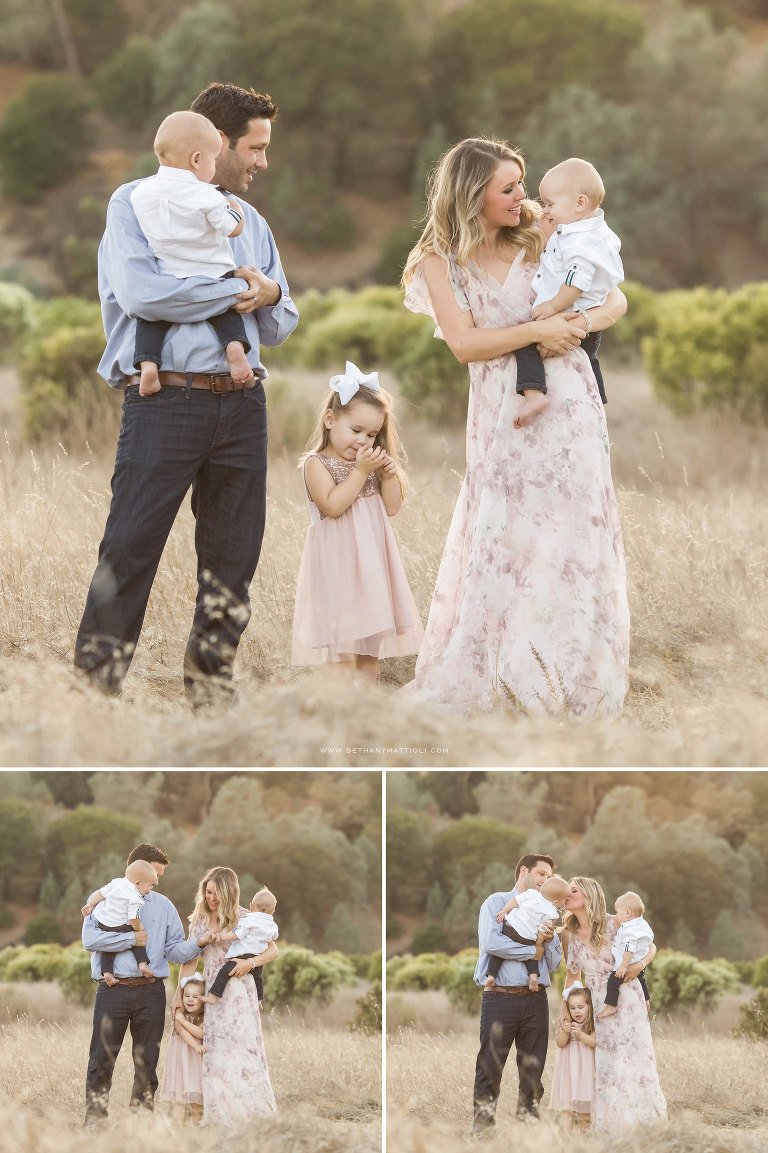 Bay Area Fall Family Photos | Willow Glen Family Photographer | Bethany Mattioli Photography