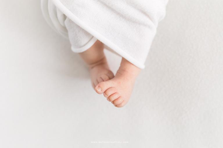 Baby Feet   Newborn Photographer in San Jose   Bay Area Newborn Photographer   Bethany Mattioli Photography