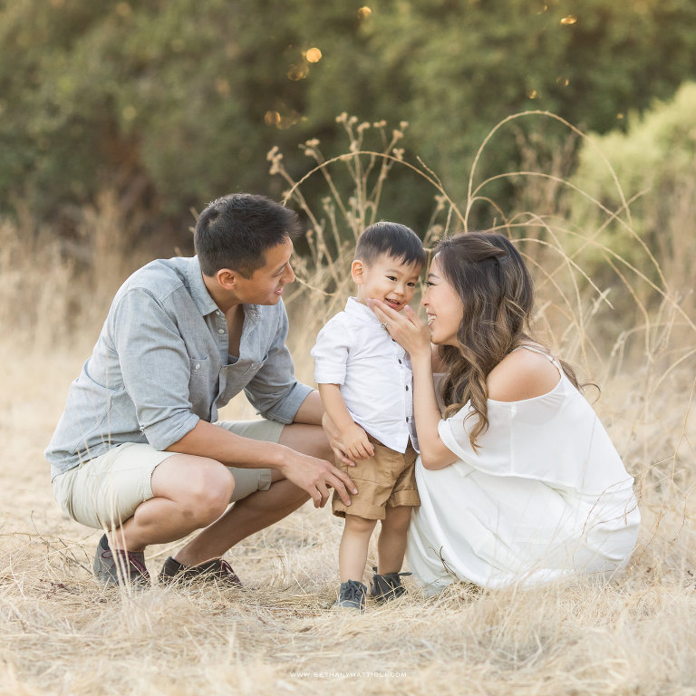 Family Photo Session Magical Moments | Bay Area Family Photographer Morgan Hill | Bethany Mattioli Photography