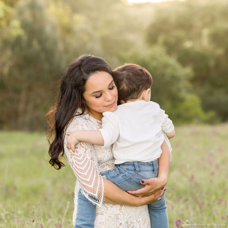 Springtime Mommy and Me Photo Session | Bay Area Family Photographer | Bethany Mattioli Photography