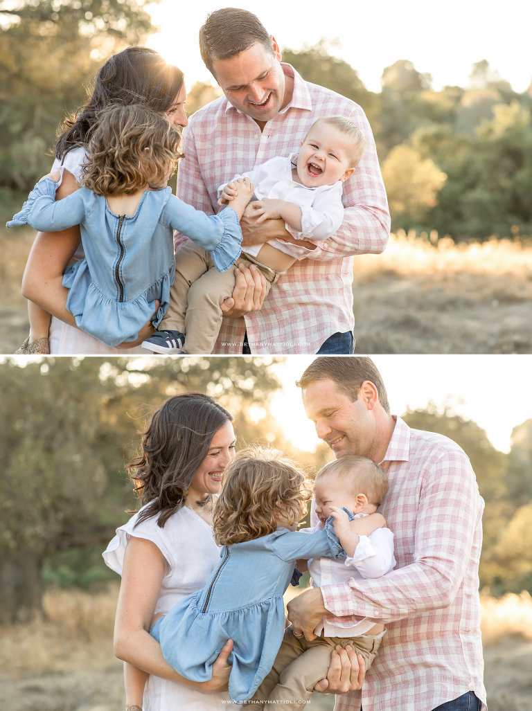 Outdoor Summer Family Photos in the Bay Area | Bethany Mattioli Photography