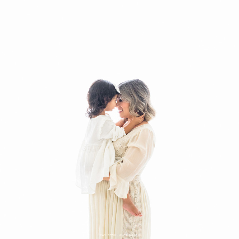 Mommy and Me Maternity Photography | Bay Area Maternity Family Studio Photographer | Bethany Mattioli Photography