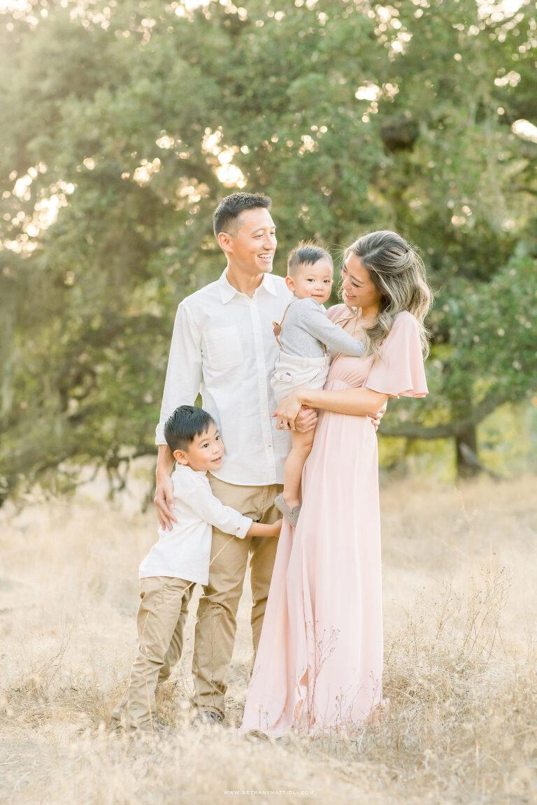 Bay Area Fall Family Photographer | Family of Four
