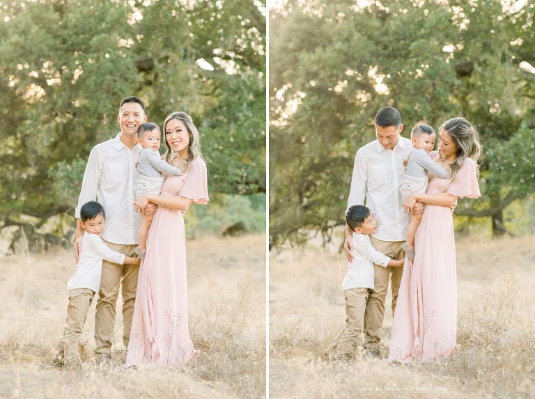 Bay Area Family Photography | Outdoor Fall Family Photos